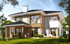 Projekt domu Dom z widokiem 4 - wizualizacja tylna