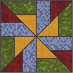 Debbie Mumm: 2008 Quilt Web Project Block Ten - can do an entire quilt on this alone