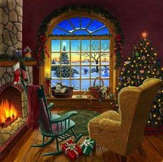 Christmas Cottage Love
