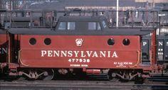 Pennsylvania R.R. #477938   Class N5C  Cabin Car