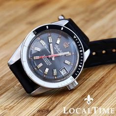ENDING IN 20 MINUTES!  WONDER Watch Ref. 540 Submarine 20ATM Medium Squale Case Automatic ETA Cal. 2472  * A no-reserve auction DAILY starting at only 0.99 *
