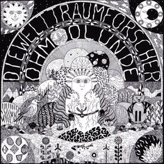 cosmic art for die welttraumforscher's 'ohm olunde' lp from 2005 Cosmic Art, Lp, Coloring Pages, Music, Quote Coloring Pages, Musica, Musik, Colouring Pages, Muziek