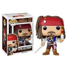 Funko Captain Jack Sparrow, Pirates of the Caribbean, Piratas do Caribe, Disney, Funkomania, Filme