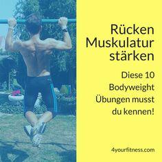 Wenn du deine Rückenmuskulatur stärken möchtest, ist dieser Artikel genau das Richtige für dich. Lerne 10 Übungen kennen und baue sie in dein Training ein.