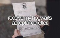 if this never happens, im going to send people their hogwarts letters :)