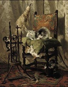Henriette Ronner-Knip, Dutch Painter (1821-1909)