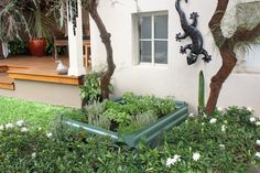Garden Bed - Eucalypt Green x x Plastic Garden Edging, Steel Garden Edging, Raised Garden Planters, Raised Garden Beds, Garden Products, Green, Plants, Plant, Planting