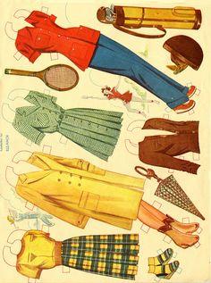 Dress Up Doll 1947 Reuban Lija Co #905 - Bobe Green - Picasa Web Albums