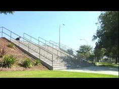 Milton Martines #skateboarding huge 180