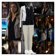 """""""Arrow~Laurel Lance~3x21~Al Sah-Him"""" by tvshowobsessed ❤ liked on Polyvore featuring Piet Hein Eek, Citizens of Humanity, J.Crew and Marsèll"""
