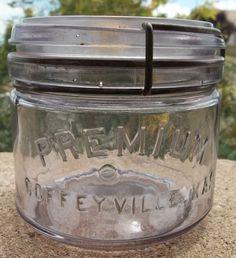 Premium Canning Jar from Coffeyville, Kansas