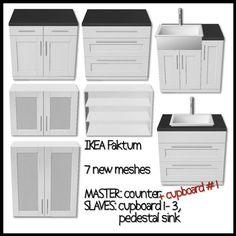 mystic_rain   Faktum Kitchen (Ikea look-a-like) - convert to sims 4!!!