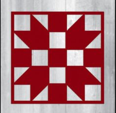 Barn Quilt Patterns for Quilts Barn Quilt Designs, Barn Quilt Patterns, Pattern Blocks, Quilting Designs, Star Quilts, Quilt Blocks, Arabesque, Painted Barn Quilts, Barn Signs