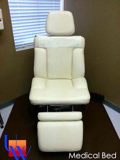 Upholstered Medical Bed By Upholstery Works In Las Vegas  Http://UpholsteryWorksLV.com
