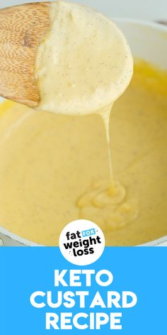 Keto Custard must be one of the most logical ketogenic recipes to create, but also one of the hardest to perfect. Getting the consistency right for custard requires some determination, many taste testers and a whole lot of delicious cream to make the best keto custard on the internet! #ketocustard #ketodesserts Sugar Free Desserts, Sugar Free Recipes, Low Carb Recipes, Keto Desserts, Easy Recipes, Custard Desserts, Custard Recipes, Delicious Desserts, Ketogenic Cookbook