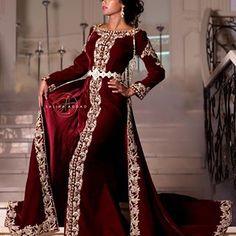 Caftan Robe Longue marocaine abaya dubai long Arabe Farasha Eid Taille Unique UK 8-20
