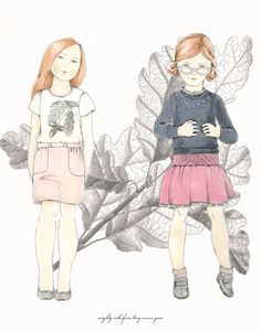 children's fashion illustration - Google Search