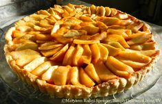 Enjoy this treat made with a little honey vs. white sugar - my Country Apple Tart