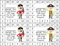 "Differentiated Behavior Punch Cards (Pirate Theme) - As we all know, ""One size doesn't fit all."" These cute incentive cards can be used to motivate a wide range of students. These can be used for behavior, homework, reading, and/or math achievement. $"