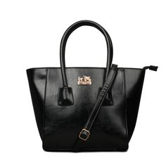 Coach Madison North South In Saffiano Small Black Satchels EKI In Our Online Shop Keeps You More Chaming And Fashionable!