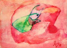 Saatchi, Watercolor Tattoo, Batman, Abstract, Tattoos, Green, Artworks, Summary, Tatuajes