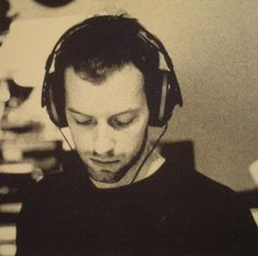 chris martin of coldplay beautiful in headphones