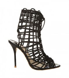 f216f8f45739 Sophia Webster Delphine Leather Sandals Black Leather Sandals