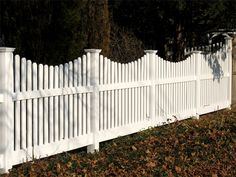 white picket fence :)