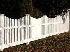 white picket fence :)