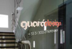 Guará Design #Mockup #Door #GuaráDesign #Design #Branding #Creative