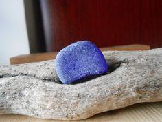Vetro di mare blu cobalto sea glass un pezzo di lepropostedimari