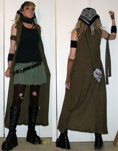 Post apocalyptic costume for the wife