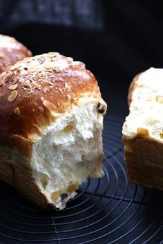 Hokkaido  façon pannetonne : pain au lait japonais à la mie filante             |            Ondinecheznanou.blogspot.com