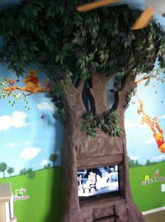 My Kids Playroom Weekend Project--DIY foam & felt tree