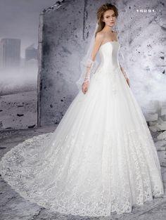 a92bbfaf18ca Abito da sposa corpetto in seta e gonna in pizzo Dalin 2016 per Bride  Project Buttrio www.brideproject.it
