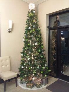 Christmas Tree Spa Interior, Nail Spa, Envy, Christmas Tree, Holiday Decor, Image, Home Decor, Teal Christmas Tree, Decoration Home