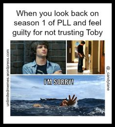 toby pretty little liars meme - Google Search