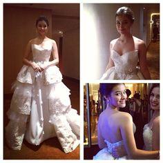 .@edwintan_designer   Liza Soberano in Edwin Tan for the Star Magic Ball 2013. #philippines #manila...   Webstagram - the best Instagram viewer