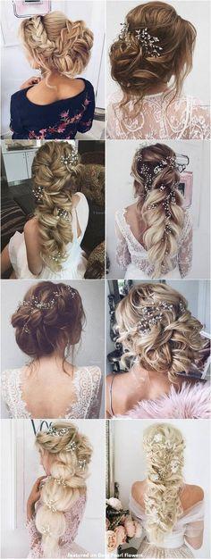 65 New Romantic Long Bridal Wedding Hairstyles to Try / Ulyana Aster www.ulyanaaster.com #weddinghairstyles