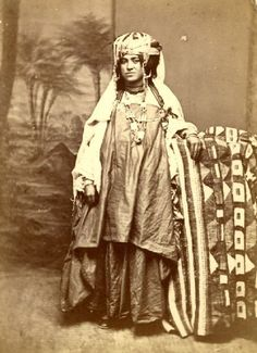 Auguste MAURE - Femme Algerienne circa 1875