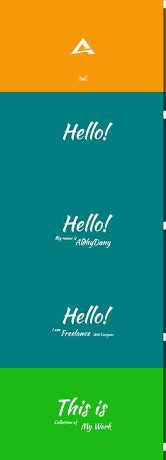 AldhyDany - Simple Portfolio Site on Behance
