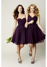 plum bridesmaid dresses - Google Search