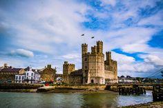 Beautiful Caernarfon Castle