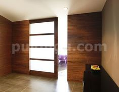Fusteria ebenisteria Puignou: FUSTERIA PUIGNOU-Porta corredera amb aigües transv... Divider, Room, Furniture, Home Decor, Puertas, Bedroom, Homemade Home Decor, Rooms, Home Furnishings