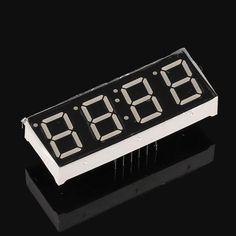 5pcs 7 Segment Clock Display Digital Segmentos 0.56inch 4 Digit 7-segment RED LED Display Common Anode Cathode 0.56 Time Display #Affiliate