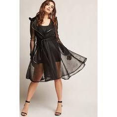 c3f399461e Sheer Mesh Belted Jacket on ShopperBoard