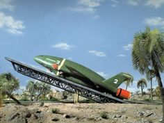 Thunderbirds...are go! It doesn't get much more iconic than Thunderbird 2, does it?