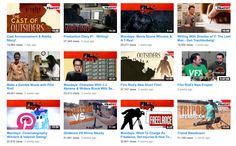 Top 8 Filmmaking YouTube Channels : Film Riot Videos