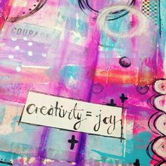 Abstract play… #artjournaling #artjournal #plan_it_art #sanitythruartjournaling #janedavenport #creativity