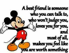 I believe I have to be the friend to others, that I myself would want to have. And I can afford to choose my friends wisely.
